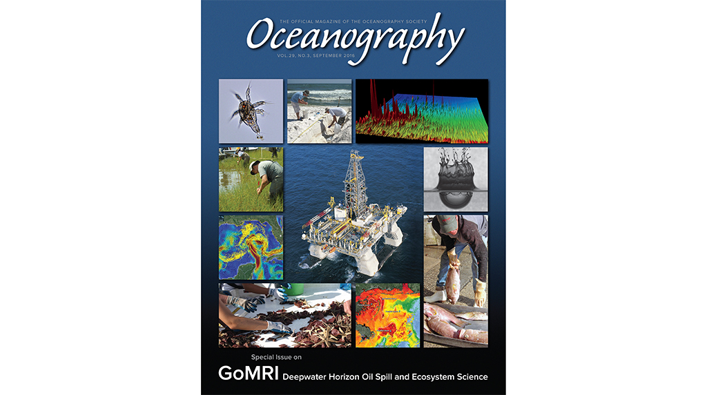 Gulf of Mexico Research Initiative Oceanography special issue now available!