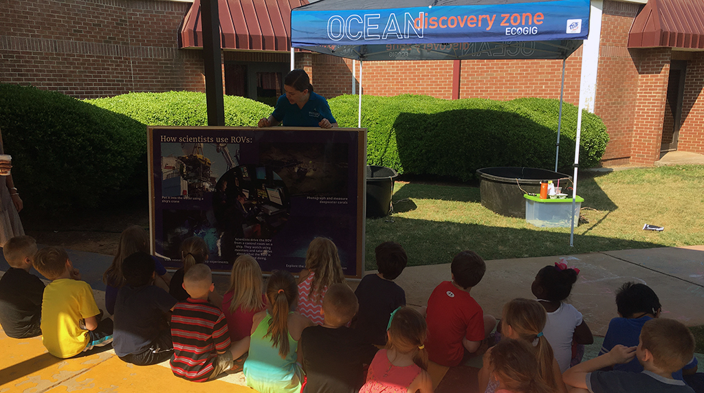 ECOGIG brings the deep sea to Oconee Primary School