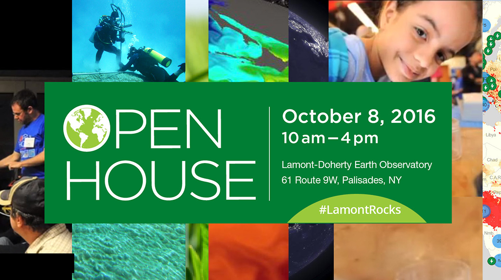 Discover the ocean at Lamont Doherty's annual open house!