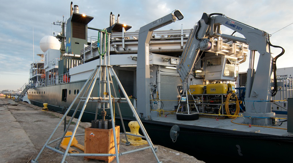 ECOGIG collaborated with Schmidt Ocean Institute on a shakedown cruise.
