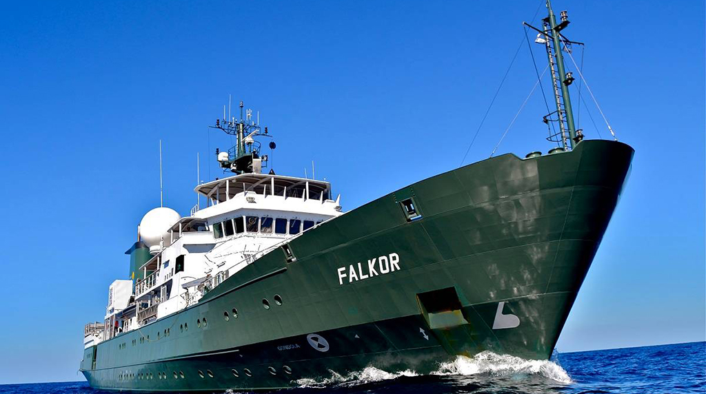 <div style='color:#000000;'><br /><br /><h2>R/V Falkor- Owned and operated by Schmidt Ocean Institute</h2>Photo courtesy of Schmidt Ocean Institute</div>