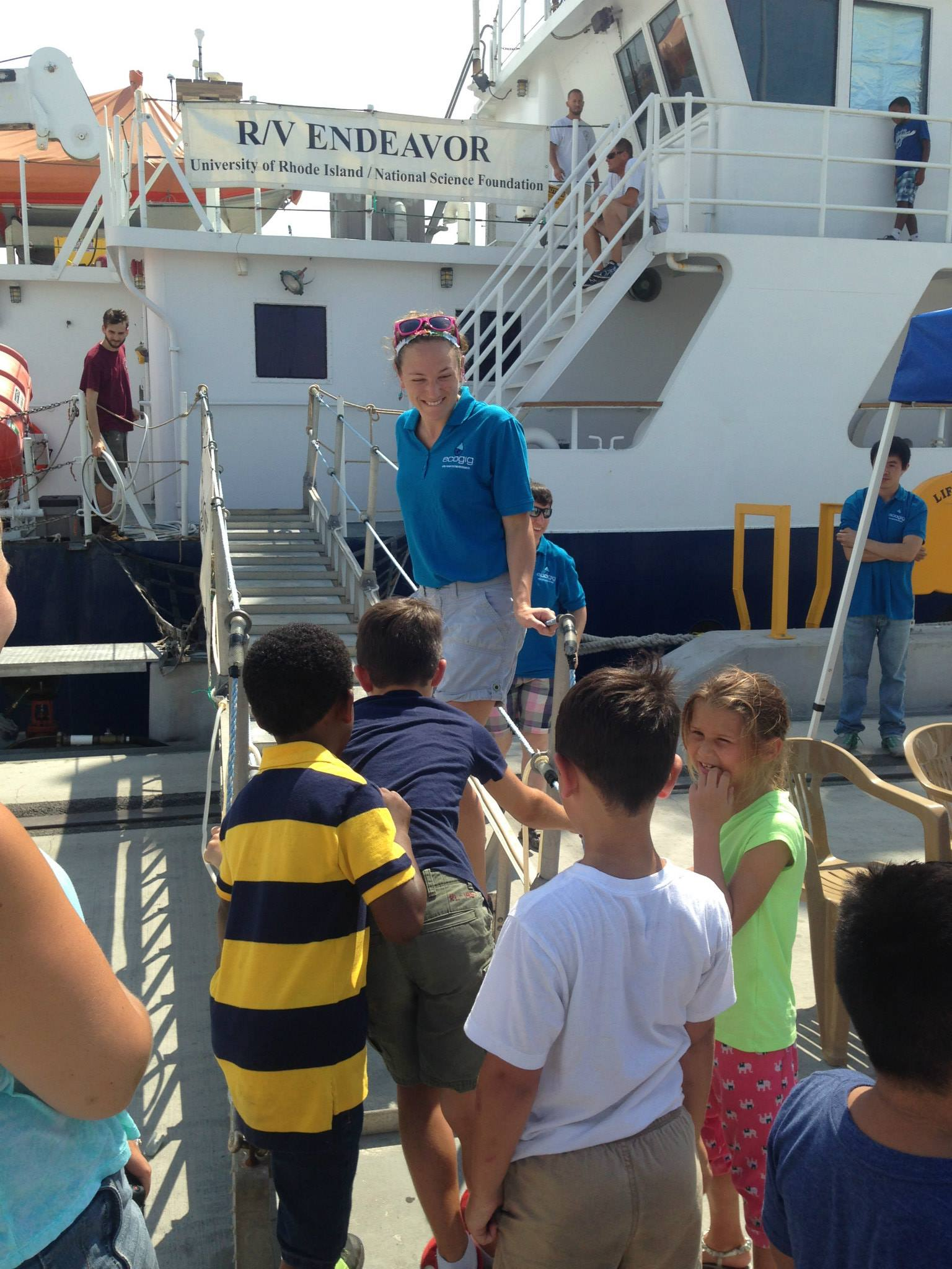 <div style='color:#000000;'><br /><br /><h2>Gulfport, MS Media Day 2015- Boys and Girls club kids tour the R/V Endeavor during World Oceans Day 2015.</h2>(C)&nbsp;ECOGIG</div>
