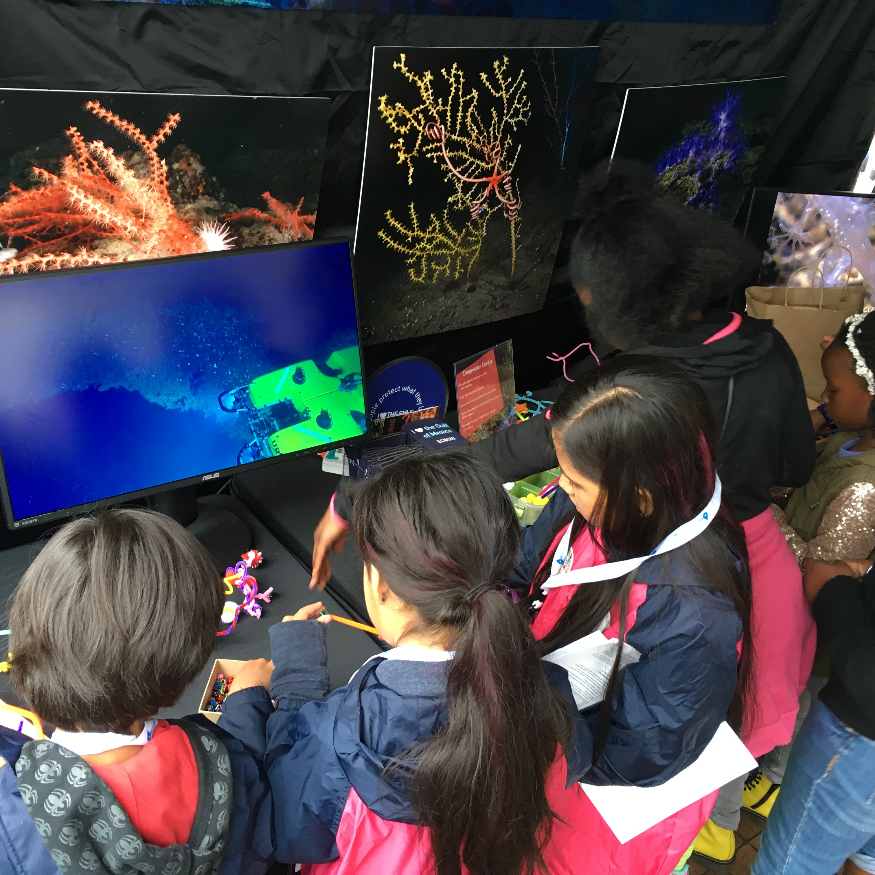 <div style='color:#000000;'><br /><br /><h2>Atlanta Science Festival 2016- Visitors build and learn more about deep sea corals</h2>(C)&nbsp;ECOGIG</div>